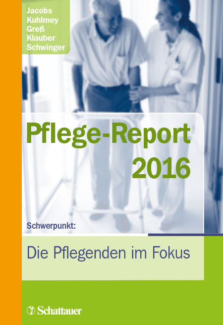 Cover der WIdO-Publikation Pflege-Report 2016